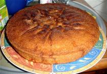 Gâteau aux poires et au gingembre