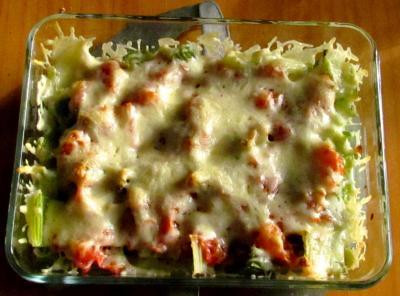 Celeri branche gratine