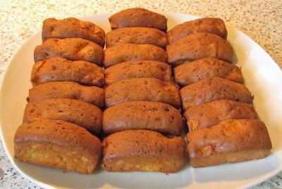 Mini cakes aux pommes