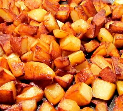 Pommes de terre rissolees