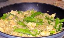 Poulet curry ble feve pois gourmand 1